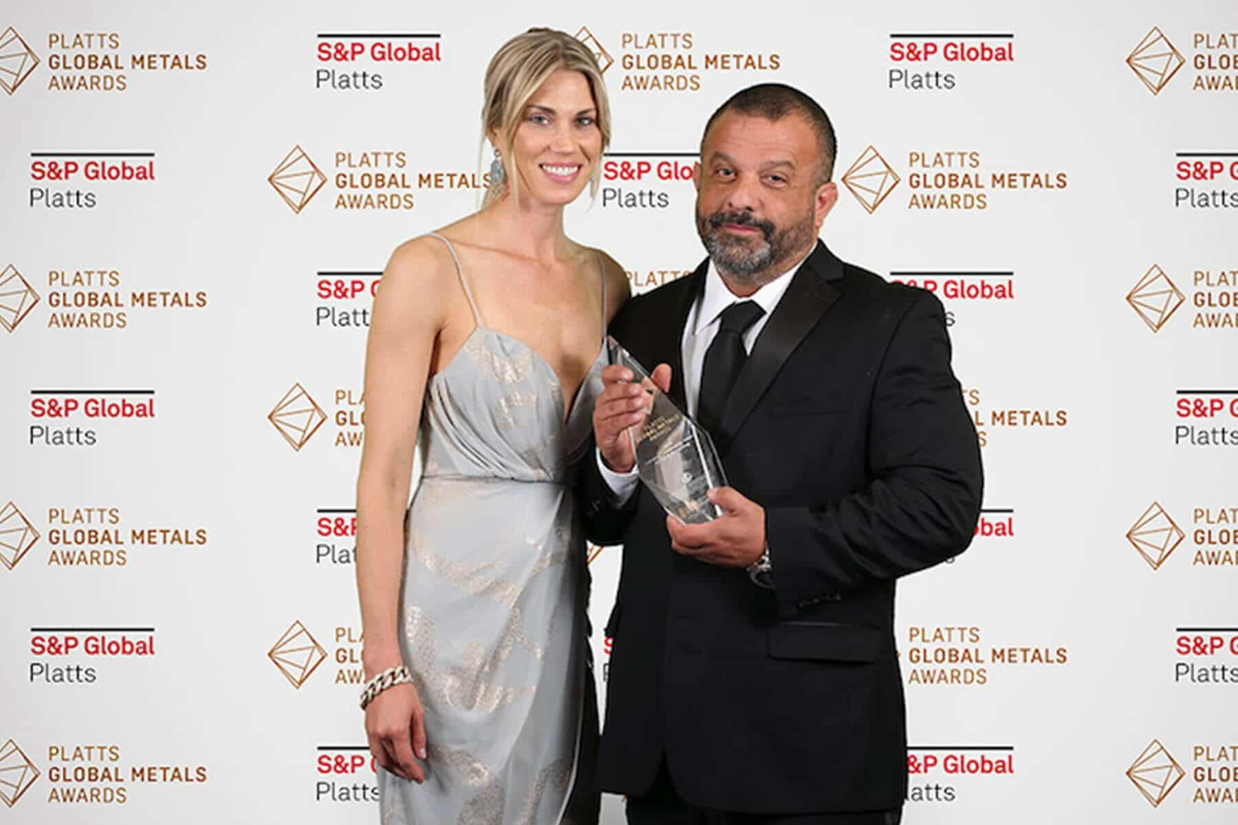 Adam Weitsman with nice, Wife Kim Weitsman
